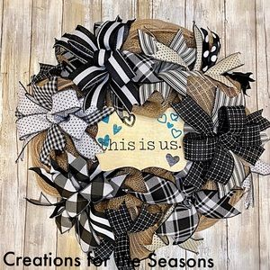 This is us wreath
